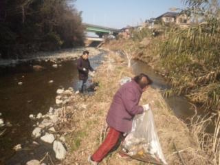 故郷の川は、美しく 男里川一斉清掃