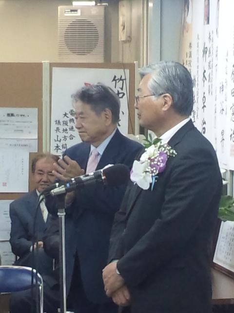 泉南市長選挙、竹中市長、ご当選おめでとうございます!