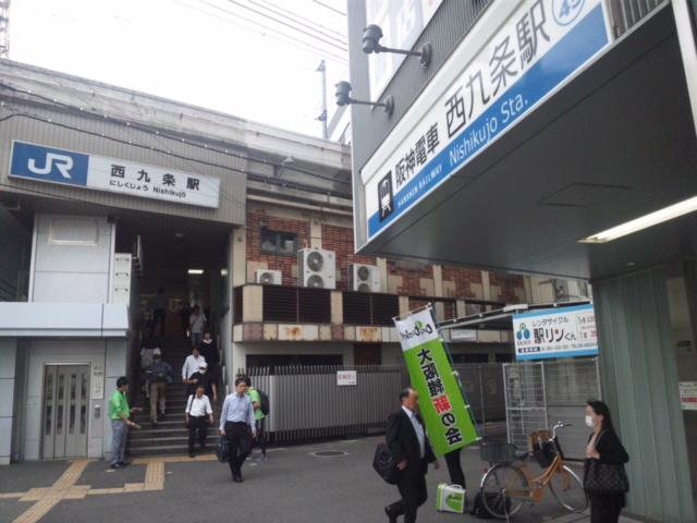 朝立は、大阪市内で 大阪都構想の啓発